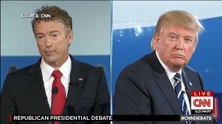 Donald Trump: Rand Paul Shouldn't Be on This Stage