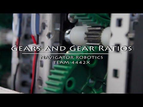 Gears and Gear Ratios