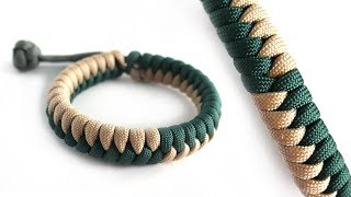 Paracord Tutorial: 2 Color Snake Knot Bracelet With Mad Max
