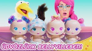 Üdvözlünk Pocakfalván, ismerd meg a Bellies Babákat és társaikat