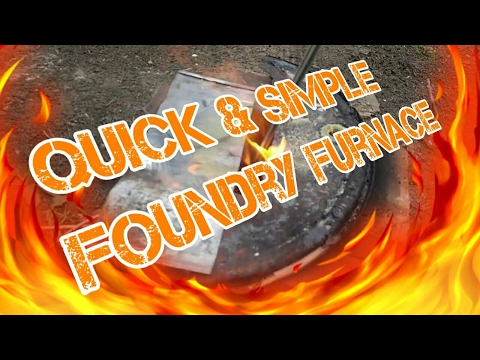 Quick & Easy Foundry Furnace