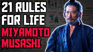 21 Rules For Life by Miyamoto Musashi - Way of Walking Alone | Dokkodo Summary