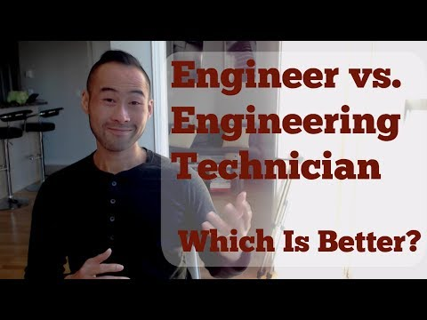 Engineering Technician or Engineer - Which Is Better For You in 2018?