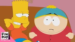 Bart Simpson vs Eric Cartman - South Park vs The Simpsons