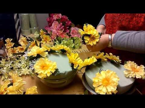 Artificial  Floral Cemetery Arrangement 2