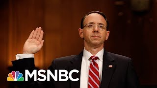 FBI Staffers' Emails Expected To Be Topic Of Rod Rosenstein