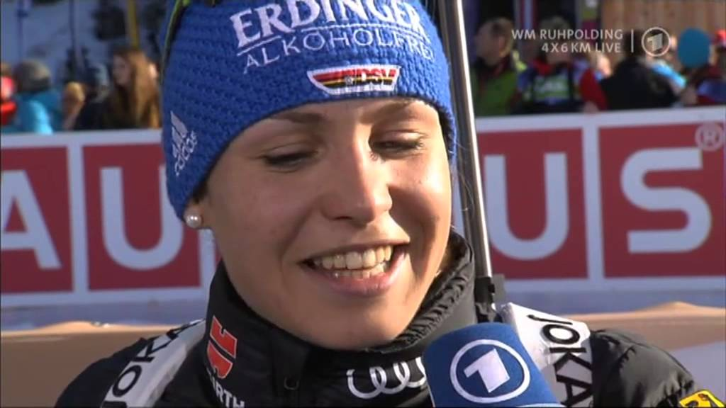 11.03.2012 Biathlon WM Ruhpolding Staffel/Relay Winner Deutschland/Germany(full)