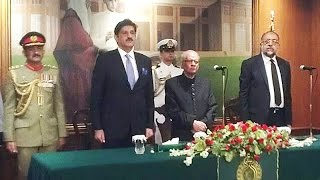 Justice (R) Saeed-uz-Zaman takes oath as 31st Sindh Governor