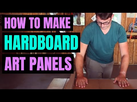 How To Make Hardboard Art Panels for Oil Painting (But Should You)?