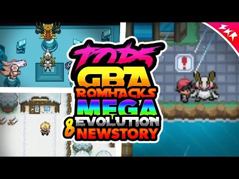 Top 5 Pokemon GBA Rom Hacks With Mega Evolution & New Story (2018)