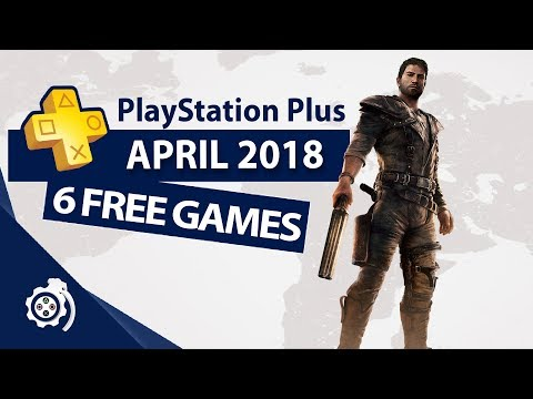 PlayStation Plus (PS+) April 2018