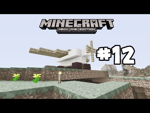 Minecraft Xbox One - PoisonSurvival - How To Make A Plane - 12