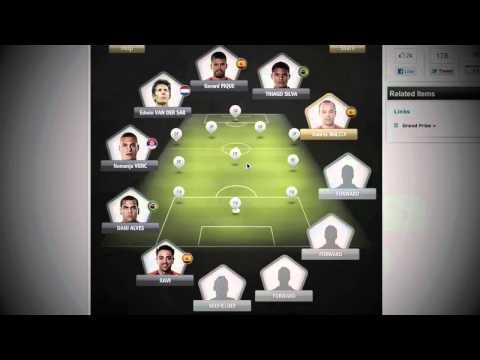 FIFA 12 Ultimate Team | FIFPro World XI My Prediction