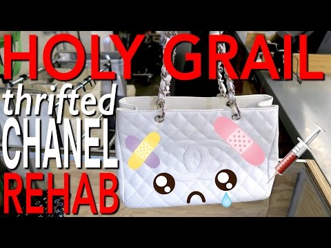 MY HOLY GRAIL THRIFTED CHANEL BAG REHAB!