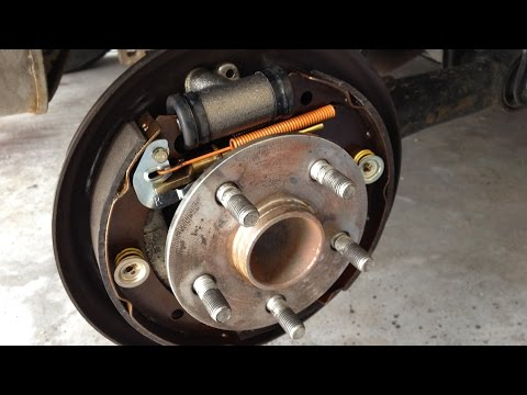 How to replace Drum Brakes - Toyota