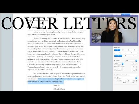 How to Write A Successful Cover Letter | Real Life Example and In Depth Tutorial
