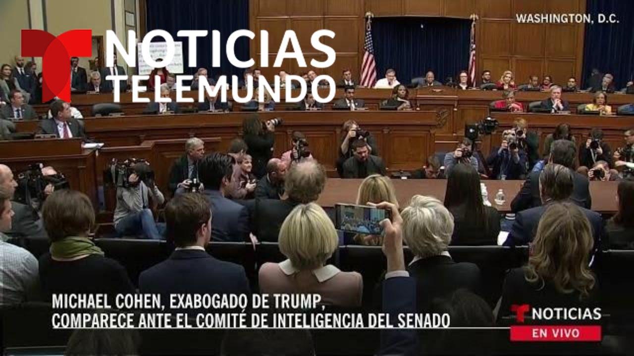 Declaración de Michael Cohen, exabogado de Trump, ante el Comité de Inteligencia del Senado