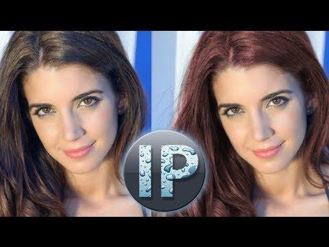 Adobe Photoshop Elements Change hair Color Tutorial InfoPuppet