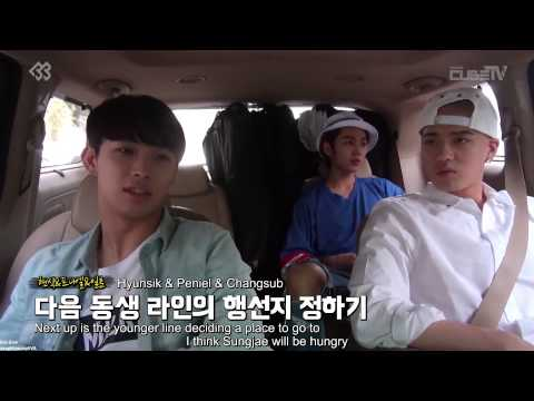 [ENG SUB] BTOB Naver Starcast - Supporting Sungjae at 'Who Are You' filming set