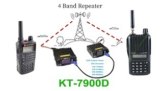 how i program the tyt 9000d uhf manually for repeaters