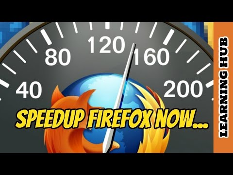 How To Make Firefox Run Amazing Faster Than Ever | Speed up Mozilla Firefox Browser