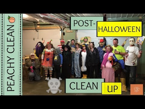 6 Freakishly Fun ways to Clean Up After Your Halloween Party