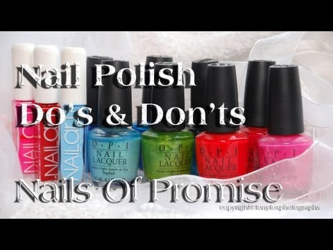 Nail Polish Do's & Do Nots Live Tutorial. Nails Of Promise.