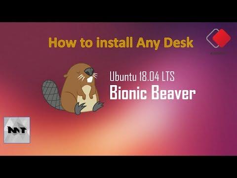 How to install AnyDesk on Ubuntu 18.04