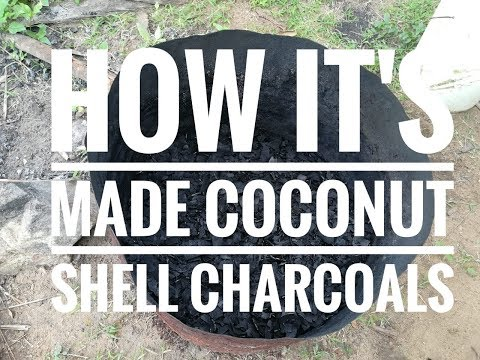 How it's made - Coconut Shell Charcoal