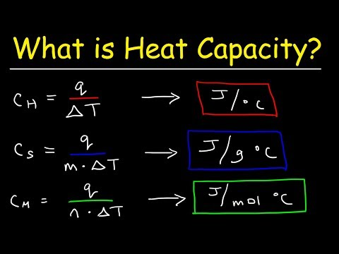 What Is The Difference Between Specific Heat Capacity, Heat Capacity, and Molar Heat Capacity