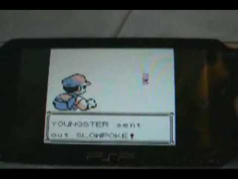 PSP How to catch mew on game boy color pokemon