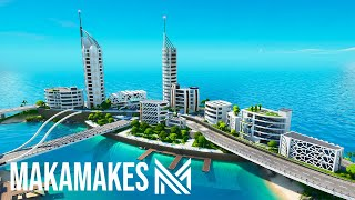EPIC Fortnite Creative City Build!