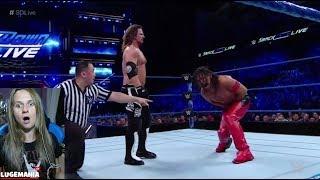 WWE Smackdown 5/15/18 Shinsuke vs AJ Styles