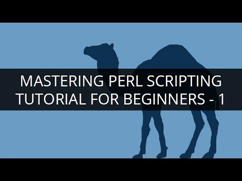 PERL Tutorial - 1 | PERL Tutorial for Beginners - 1 | Perl Scripting Language Tutorial | Edureka
