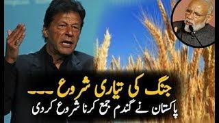 پاکستان میں گندم جمع کرنا شروع کردی || حکومت کا بڑا اعلان