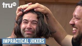 Impractical Jokers - Murr Wigs Out (Punishment) | truTV