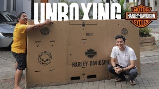 ARIEF MUHAMMAD UNBOXING HARLEY