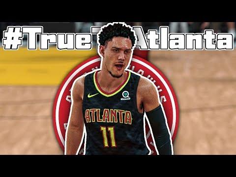 *INSANE* HAWKS DEBUT! - NBA 2K18 Trae Young My Career Ep. 28
