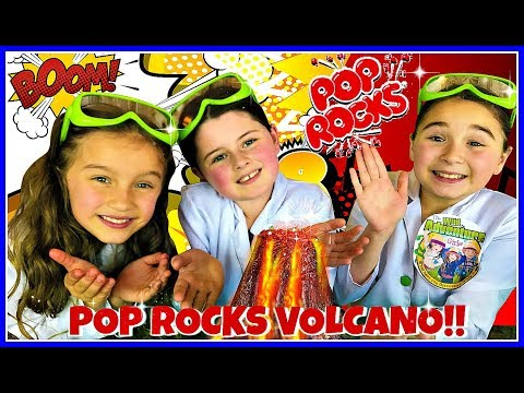 How To Make A Volcano Eruption!  Science Experiments for Kids
