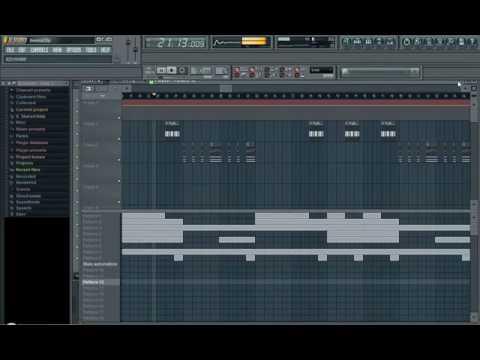 Hip Hop Rap Beat In Fruity Loops 9 XXL