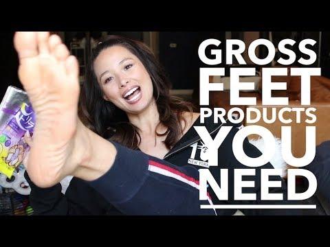 How I Get Soft Feet | Gross Beauty Products I Use | Aja Dang