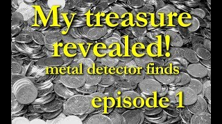 My treasures with a metal detector