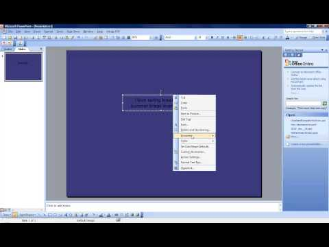 Tuesday Technology: Creating a SemiTransparent Textbox in MS PowerPoint