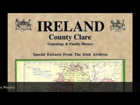 McDarby family roots; Co. Clare, Ireland research; Irish Smurf; UCD bat grant IF77