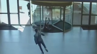 Stupid People Walking into Glass
