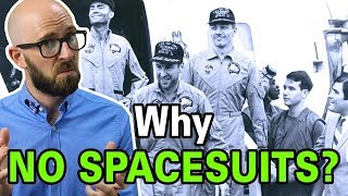Why Didn't the Apollo 13 Astronauts Just Put On Their Space Suits to Keep Warm