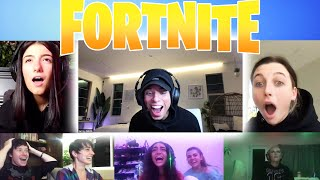 PLAYING FORTNITE WITH TIKTOKERS & YOUTUBERS