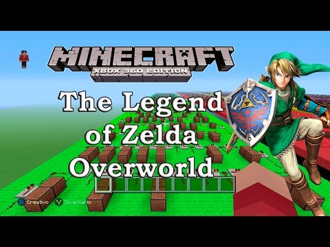 The Legend of Zelda Overworld Theme - Minecraft: XBOX 360/ONE/PS3/PS4 ¡ NoteBlock Song !
