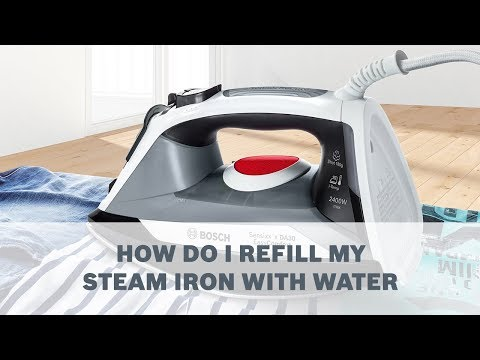 How Do I Refill My Steam Iron With Water - Cleaning & Care
