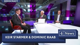 Interview with Keir Starmer and Dominic Raab
